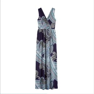 BNWT Renee C Blue Maxi Dress Size S